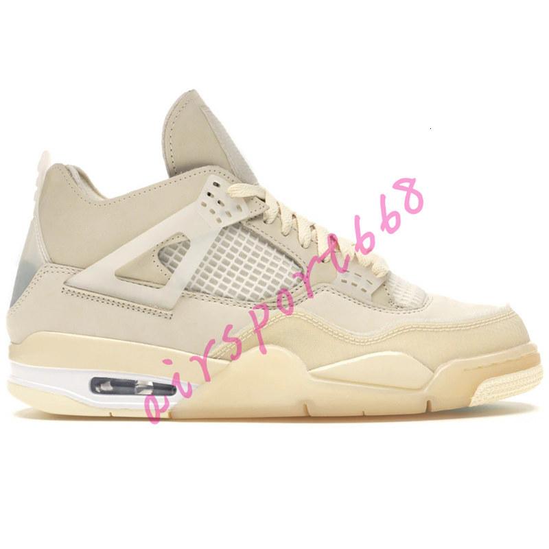 NEW 4 white x sail 4s Jumpman basketball shoes SE Neon Travis scotts purple rasta denim black mens sneakers US 7-13