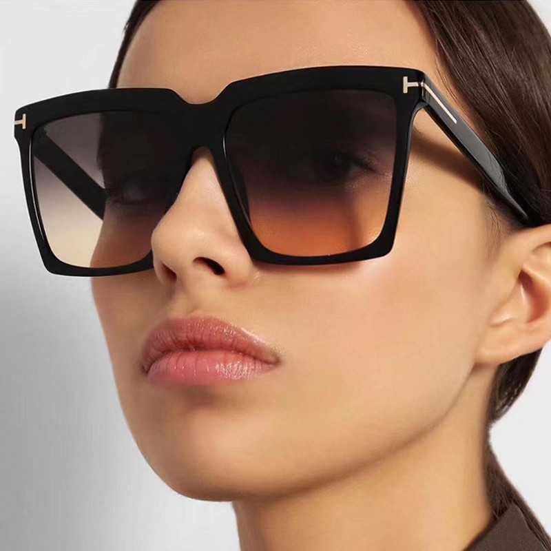 Square Sunglasses Women Oversized Vintage Shades T Sunglasses Square 2020 For Women Female Lady Sunglass UV400
