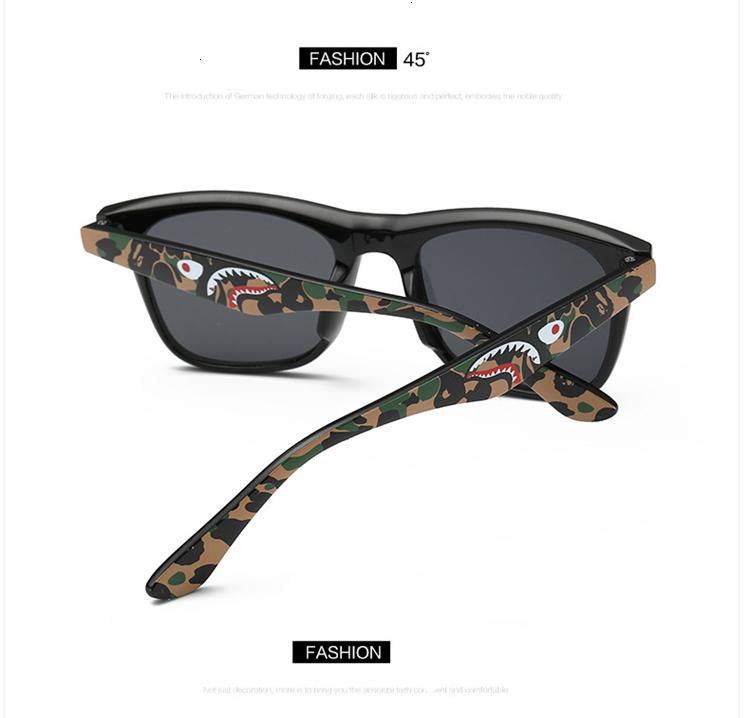 MOSILIN Brand Kids Camouflage Sunglasses Baby Military Goggles Glasses Girls Boys Mirror Coating Eyewear Flat Shark Oculos Infantil (16)