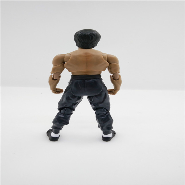 SHFiguarts King of Kung Fu Bruce Lee Variant With Nunchaku Action Figure Collectible Model Toy 15cm (5)