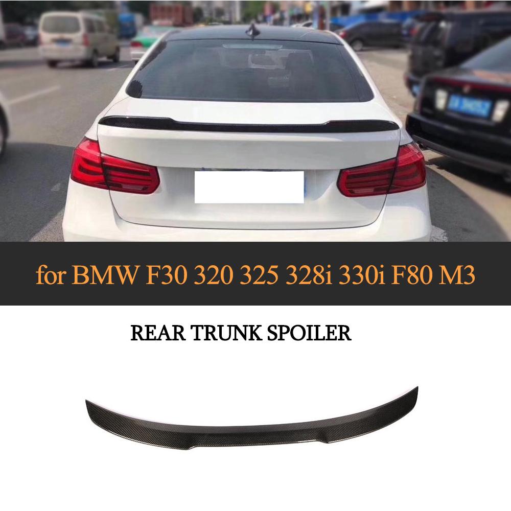 NEW CS STYLE CARBON FIBER REAR SPOILER TRUNK FOR BMW 3 SERIES G20 SEDAN 2019 up