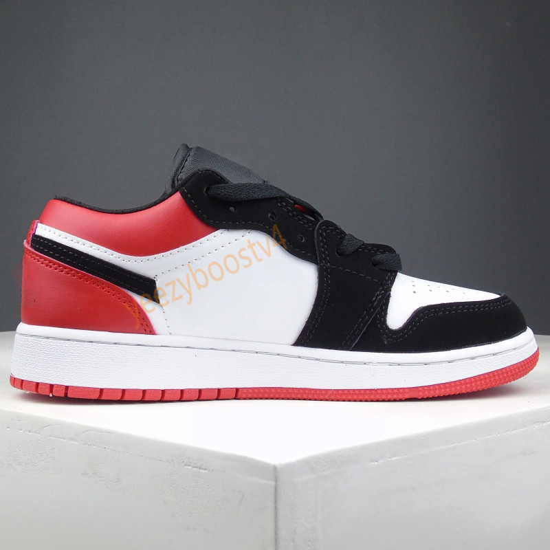 New Low Jumpman 1s Basketball Shoes Men Women grey black sail Chicago UNC pine green shattered backboard Athletic Trainers Paris Sneakers