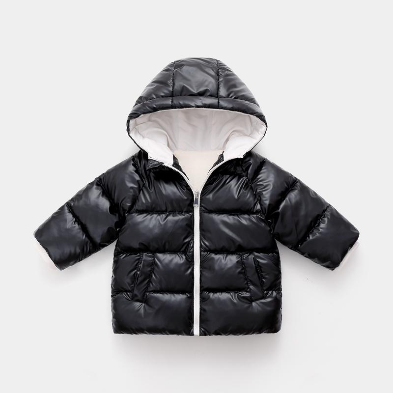 CROAL CHERIE Children`s Parkas Kids Winter Jacket For Girl Boys Winter Coat Warm Thick Velvet Hooded Baby Coats Outerwear (6)