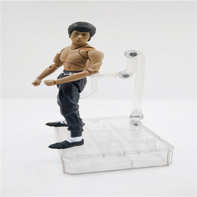 SHFiguarts King of Kung Fu Bruce Lee Variant With Nunchaku Action Figure Collectible Model Toy 15cm (3)