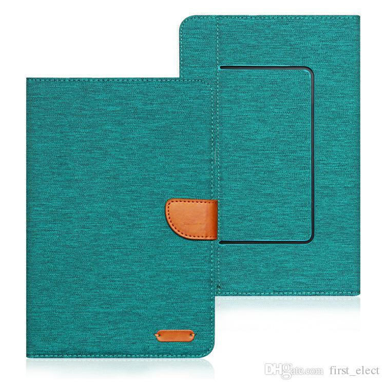Universal Wallet Card Slot Flip Stand PU Leather Tablet Phone Case For iPad mini iPad 9.7 Samsung 7 8 9 10 inch Tablet