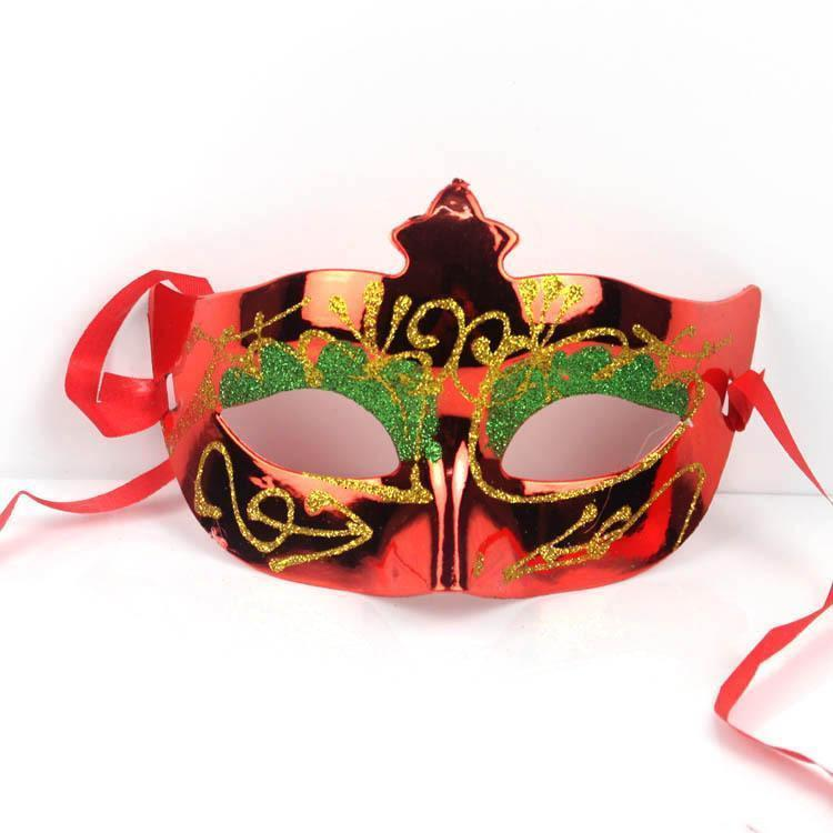 Most Size Half Color Glittear Venetian assorted Princess Fit Mask Mardi Masquerade One Halloween Gras Beauty Mask Mask Ball Prince OgdAW
