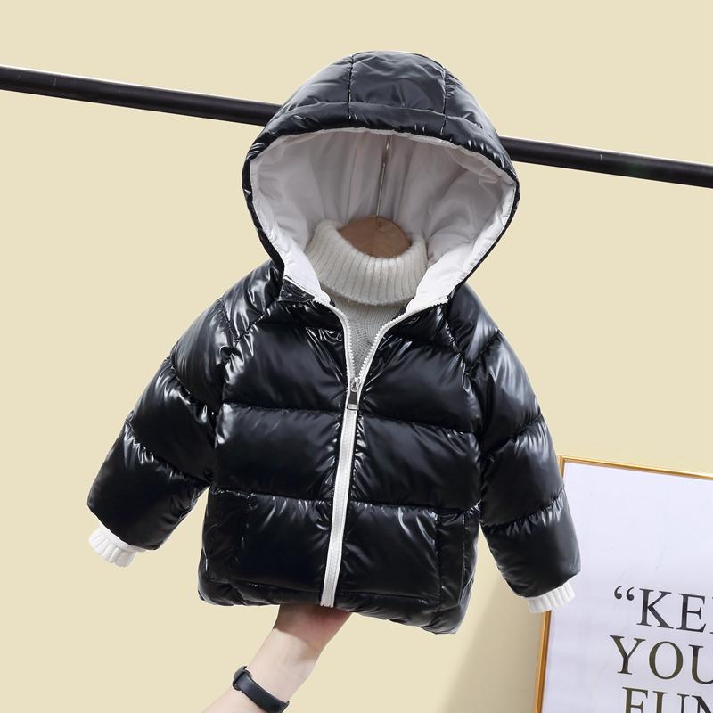 CROAL CHERIE Children`s Parkas Kids Winter Jacket For Girl Boys Winter Coat Warm Thick Velvet Hooded Baby Coats Outerwear (10)