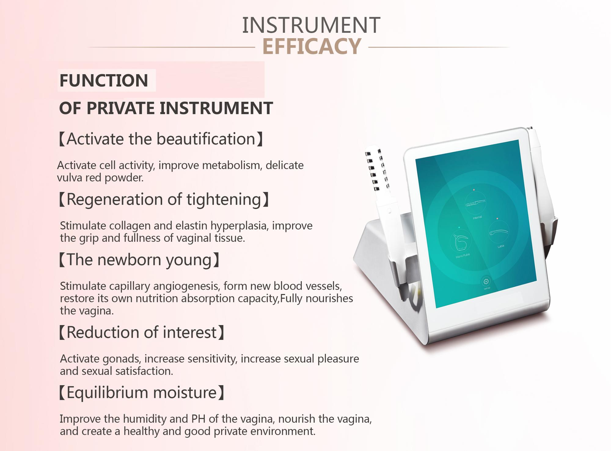 Popular Cheap Price Rf vaginal Tightening Machine for whole sale RF Thicken vaginal wall / vaginal tightening beauty machine