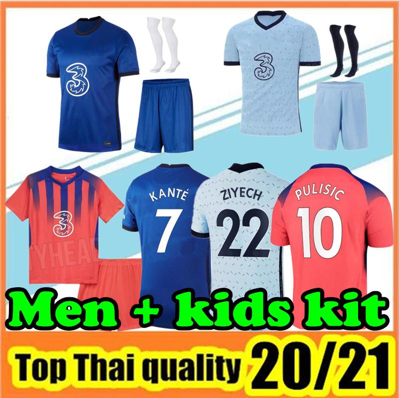 2020 2021 adult kit+sock Soccer Jerseys 20 21 Camisetas Adult Kits Maillots Football Shirt