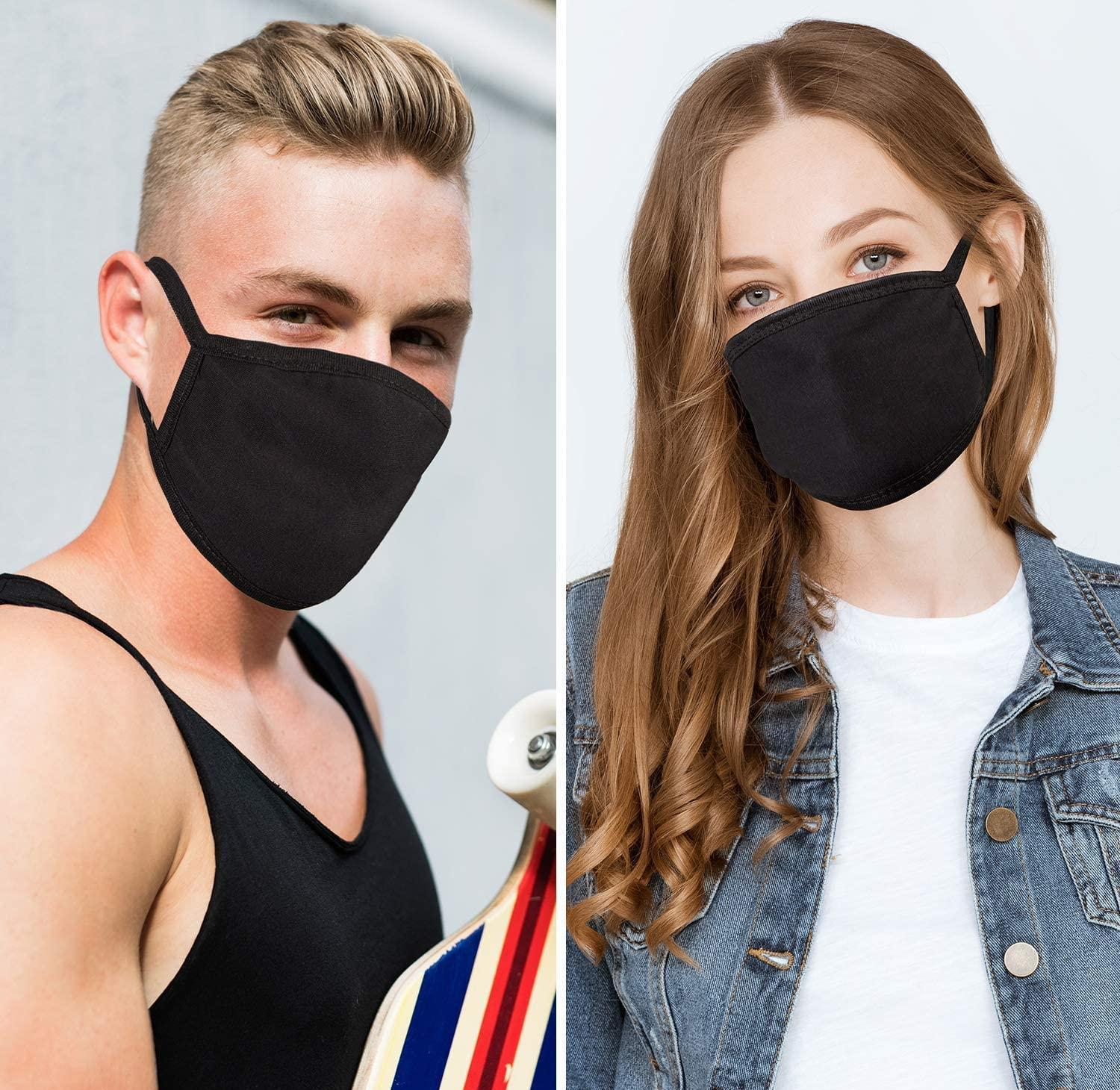 Camping Masks Face Reusable Fashion Travel Reusable Mask Unisex Mask Masks Cycling Men Black For Anime Washable For mXQXB hotstore2010
