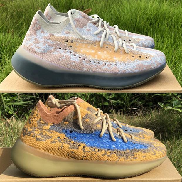 Best deals on Calcite Lmnte Onyx Kanye Shoes Azure Hylte Glow Pepper Reflective Blue Oat Men Women Sneakers Top Quality Mist Alien Trainer