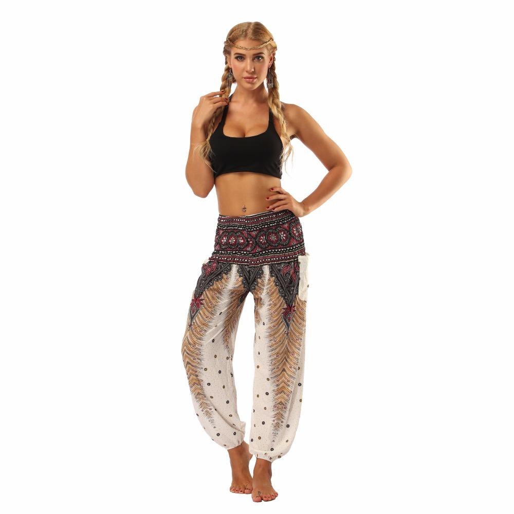 TL001-Wide leg loose yoga pant elastic legging (3)