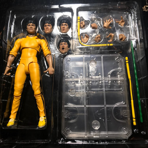 SHFiguarts King of Kung Fu Bruce Lee Variant With Nunchaku Action Figure Collectible Model Toy 15cm (17)