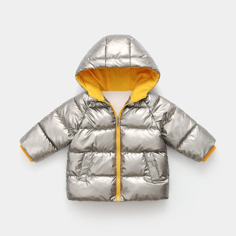 CROAL CHERIE Children`s Parkas Kids Winter Jacket For Girl Boys Winter Coat Warm Thick Velvet Hooded Baby Coats Outerwear (5)