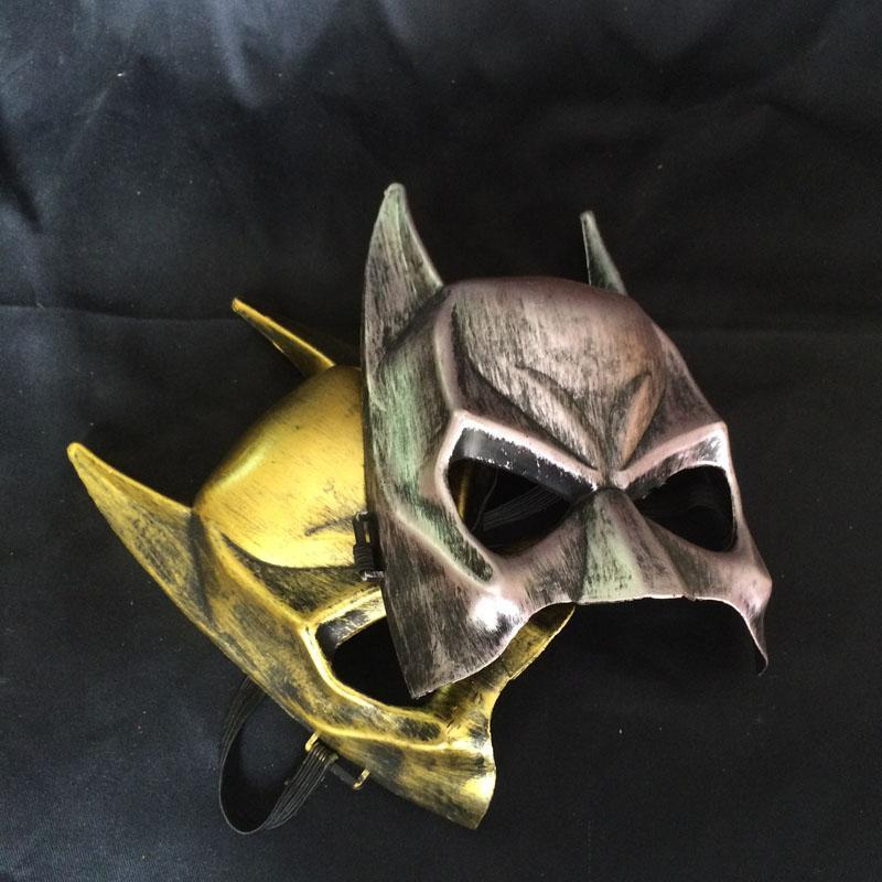 Halloween Dhl Mask Retro Masquerade Size Mask Party Silver Costumes Cosplay One Hero For Fit And Eye Shipping Gold Most Bat Tjmph