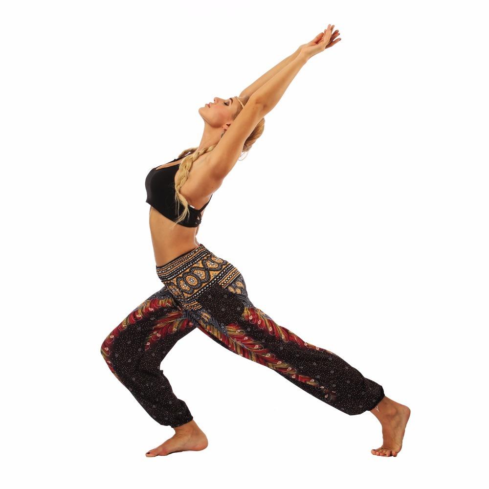 TL004- Brown wide leg loose yogqa pants leggings (6)