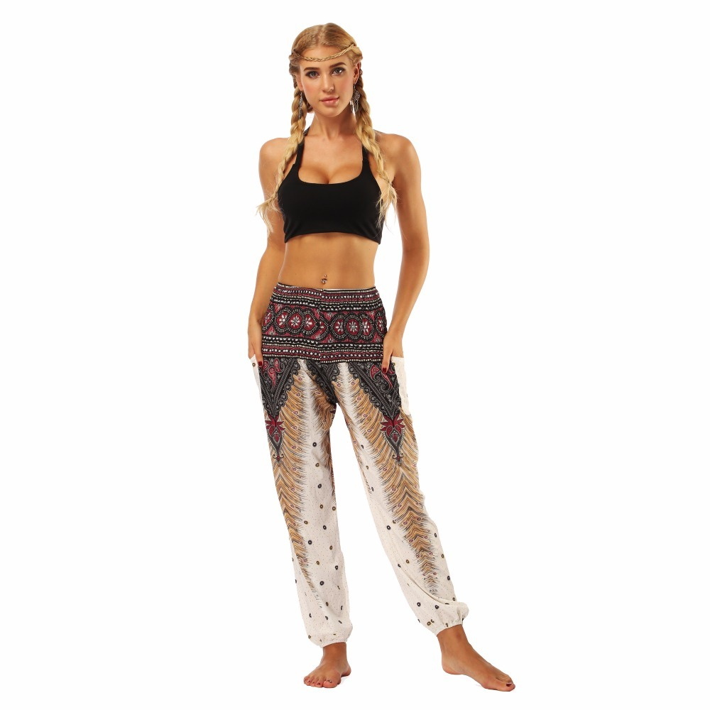 TL001-Wide leg loose yoga pant elastic legging (5)