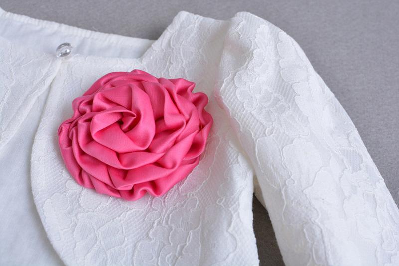 Lace Top Coat Bolero 304 (46)