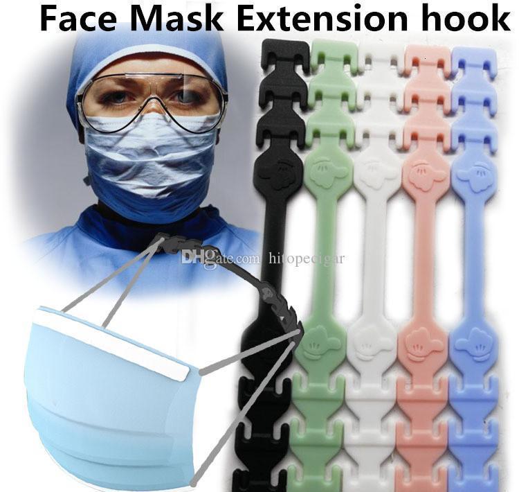 Third Gear Adjustable Mask Ear Grips Extension Hook Face Masks Buckle Holder Adjustable Face Mask Hook Ear Buckle yDcRL E2008