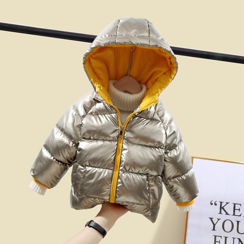 CROAL CHERIE Children`s Parkas Kids Winter Jacket For Girl Boys Winter Coat Warm Thick Velvet Hooded Baby Coats Outerwear (8)