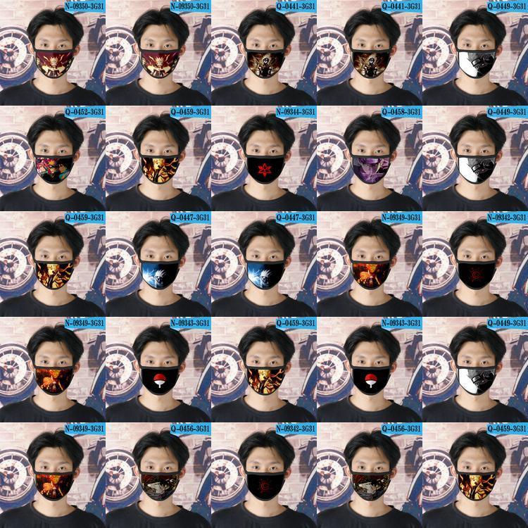 Designer Naruto Cubrebocas Naruto 02 Face Face Tapabocas For Ao Reusable Mask Cartoon Mask Ao Children eJYtv home2009