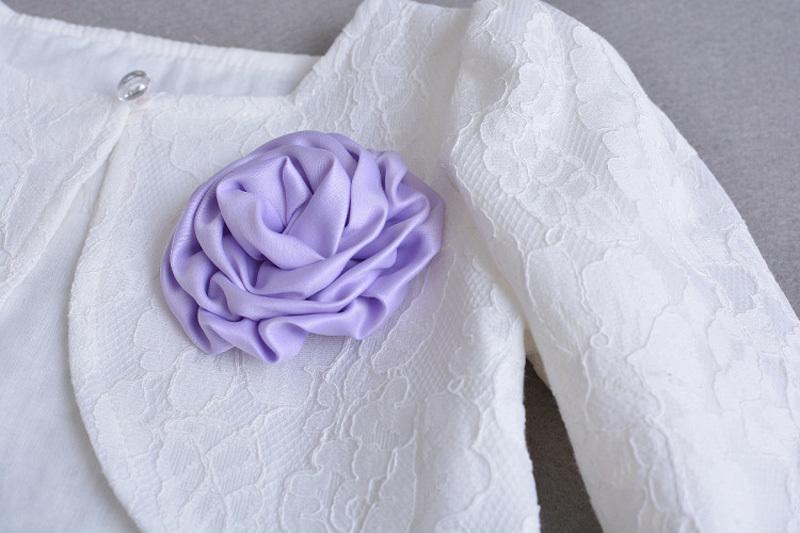 Lace Top Coat Bolero 304 (48)