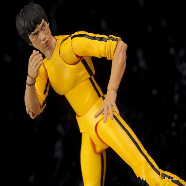SHFiguarts King of Kung Fu Bruce Lee Variant With Nunchaku Action Figure Collectible Model Toy 15cm (10)