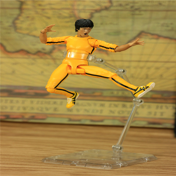 SHFiguarts King of Kung Fu Bruce Lee Variant With Nunchaku Action Figure Collectible Model Toy 15cm (15)
