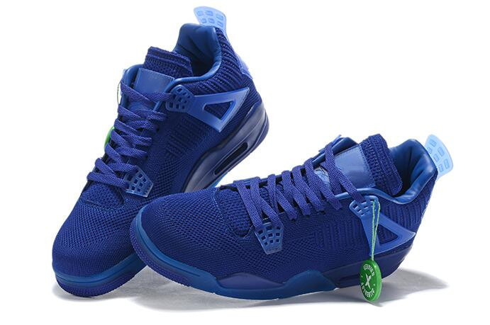 2019 New 4s weave Blue Red Green orange 4 low men basketball shoes sports sneakers outdoor trainers high quality size 7-12