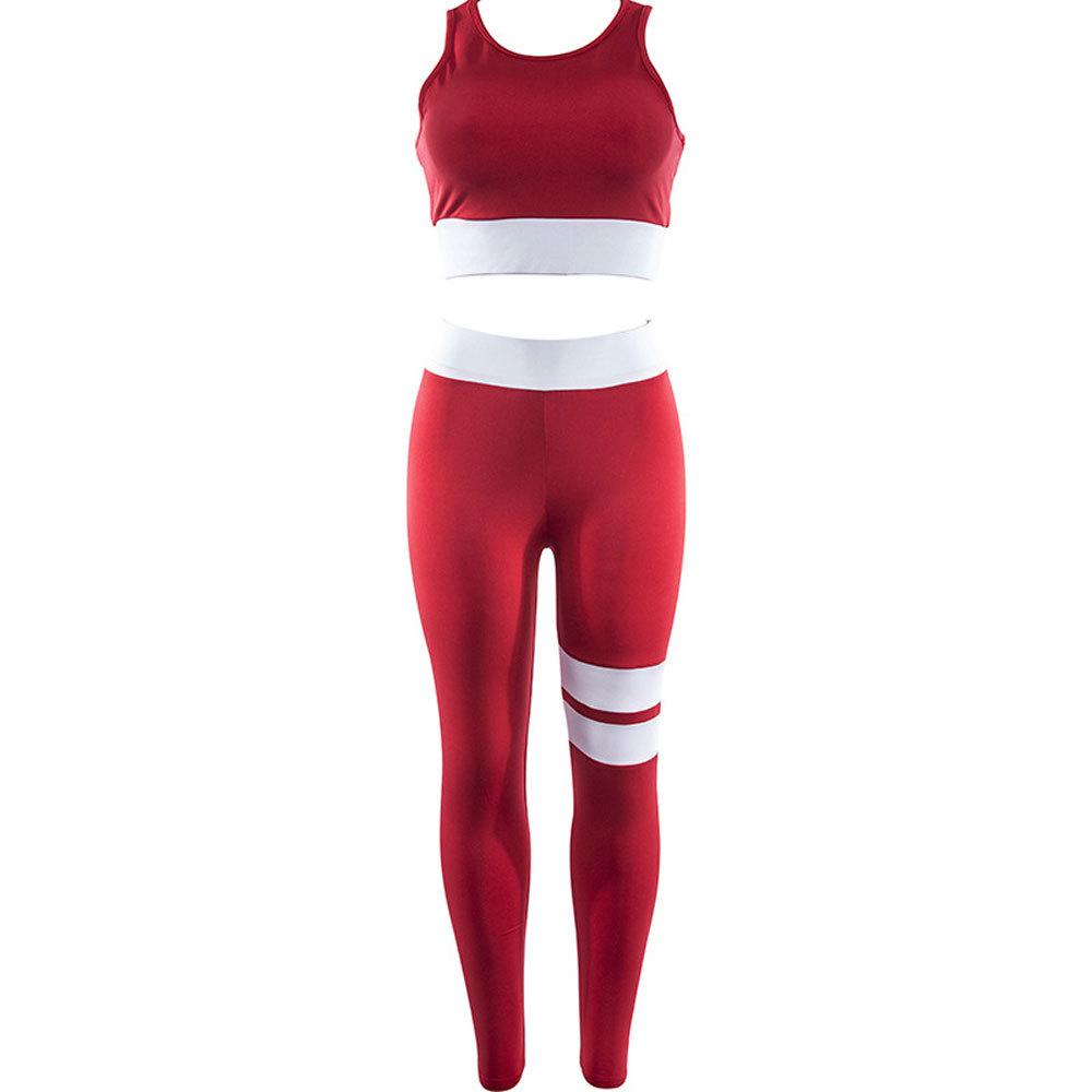 Jumpsuit Yoga Sets Women Gym Wear (18)