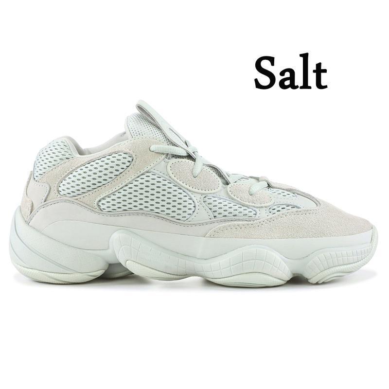 Hot Sale Kanye west Soft Vision 500 Super Moon Yellow Utility Black Blush Salt stylist Sport high quality sneaker Men Women Running shoes
