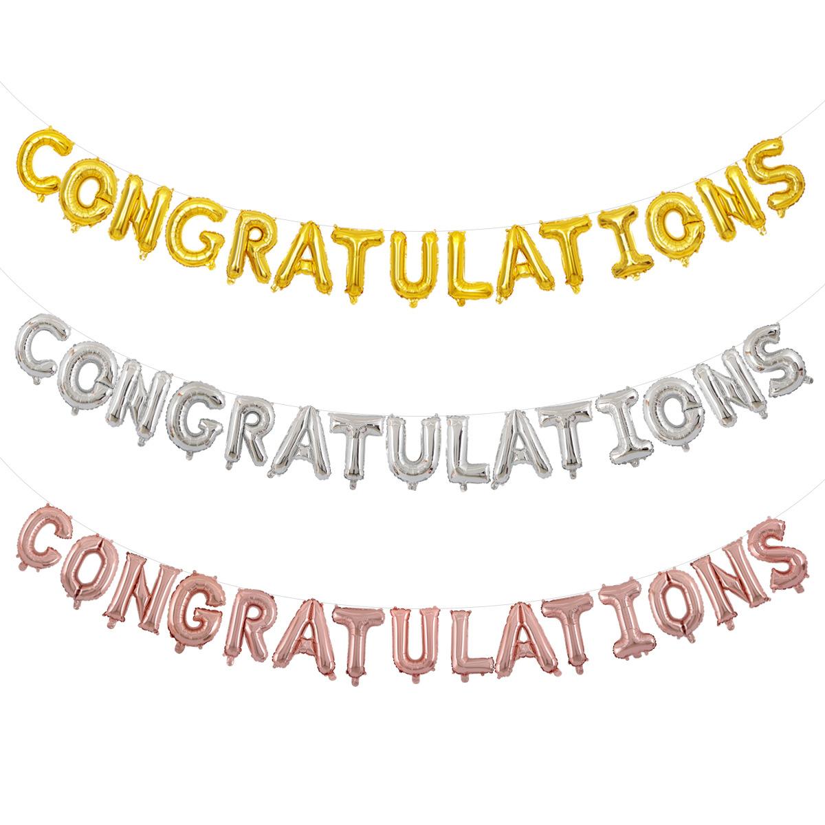 45 Pezzi 2020 Palloncini di Laurea Decorazione Grad Oro Palloncini Nero e Bianco Palloncini in Lattice per Laurea e Nastro di Palloncini per Forniture di Feste di Laurea alla College Universitario