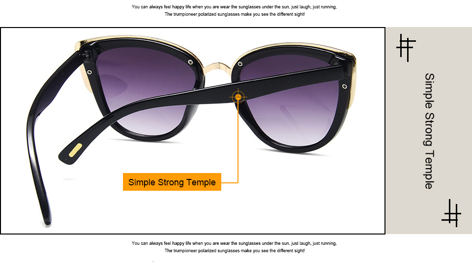 KEEPIONEER Cat Eye Sunglasses Women Acetate Cateye Sun Glasses Oversized Brand Designer Shades Female Luxury Gradient Eyewear UV