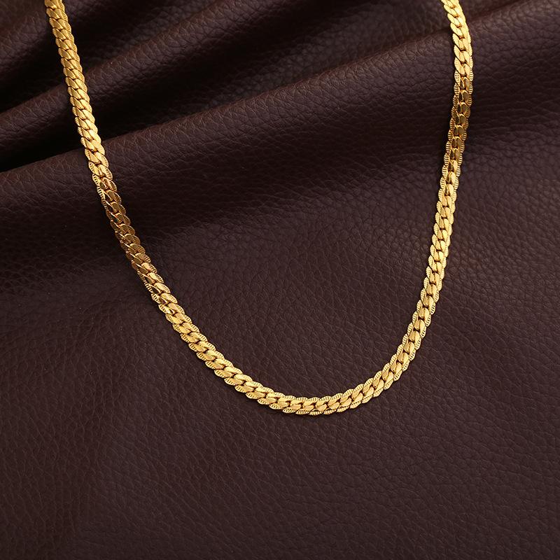 collar Lang serpiente 925 cadena nuevo colgantes plata serpientes Señora