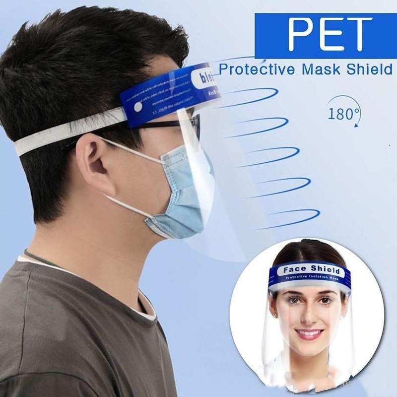 Hat Transparent Face Anti-fog Face Anti-droplets Shields Full Clear Protection Mask Protective Adjustable Face Mask bdegarden