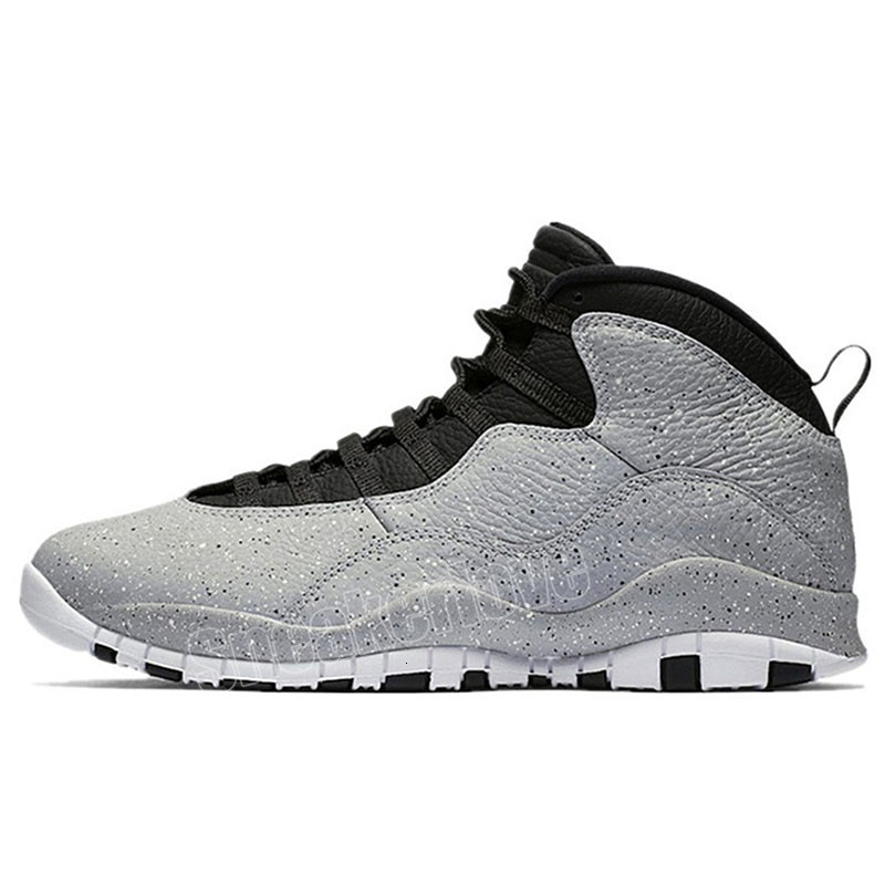 2019 Basketball shoes 10 10s Cement stealth white Black grey Westbrook Class of 2006 Im back mens Athletic sports sneakers 7-12
