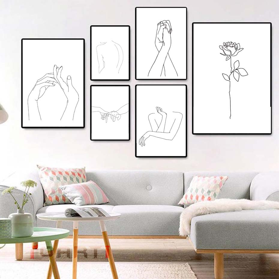 Abstract Body Painting Wall Art Online Shopping Buy Abstract Body Painting Wall Art At Dhgate Com