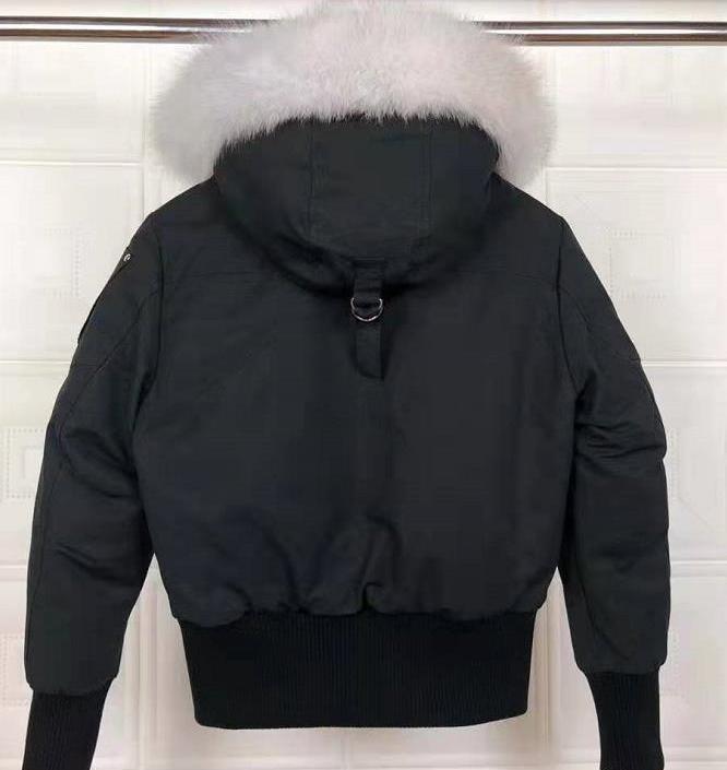 2019 WOMEN Winter Fourrure Down Parka Femme Jassen Daunejacke Outerwear Big Fur Hooded Fourrure Manteau Down Jacket Coat Goby Hiver Doudoune