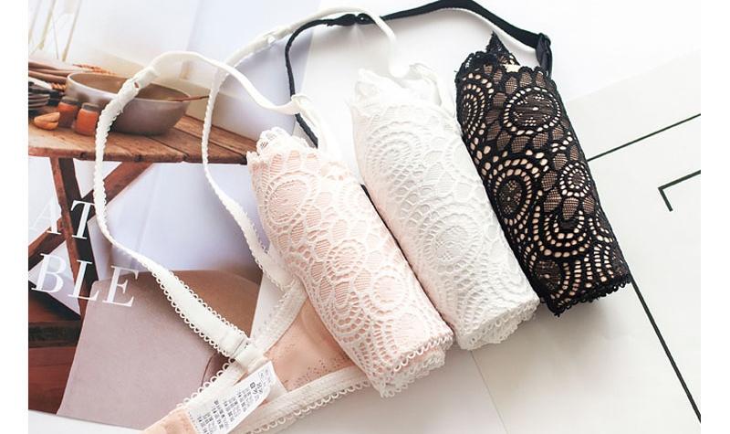 Jerrinut Sexy Lace Underwear Set Underwear Women Push Up Bra Lingerie Set Lace Transparent Underwear Panties And Bra Set 23