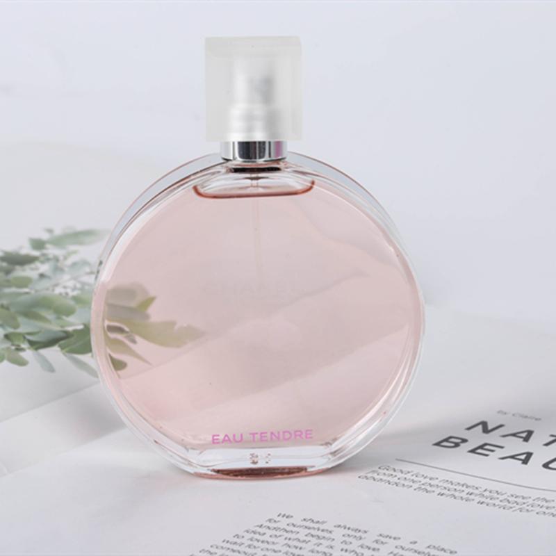 Famous Perfume for woman pink yellow green Parfum Spray EAU TENDER Eau de Toilette 100ML Lasting Fragrance free shipping