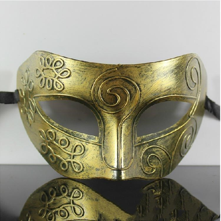 Gold Retro Silver Available Halloween Man Masks Gladiator And Mask Children Woman Masquerade Roman Mardi Party Gras trustbde MdPTt