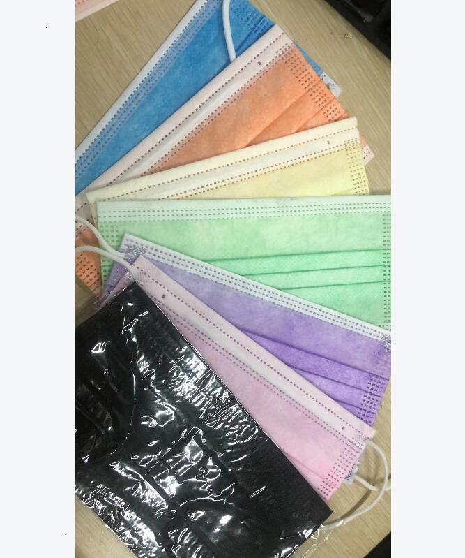 US STOCK, NO Box Disposable Mask, Face Mask Anti Dust Pm2.5 Pollution Windproof Mouth Cover Mask
