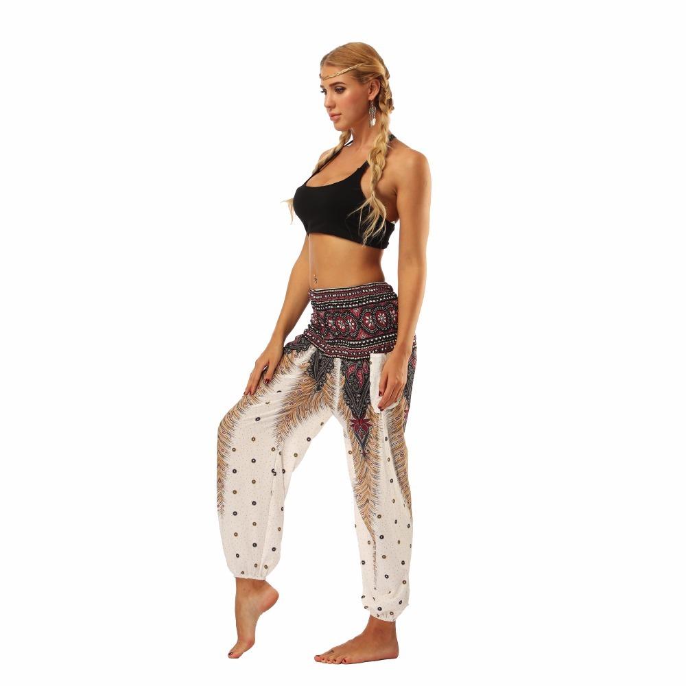 TL001-Wide leg loose yoga pant elastic legging (8)
