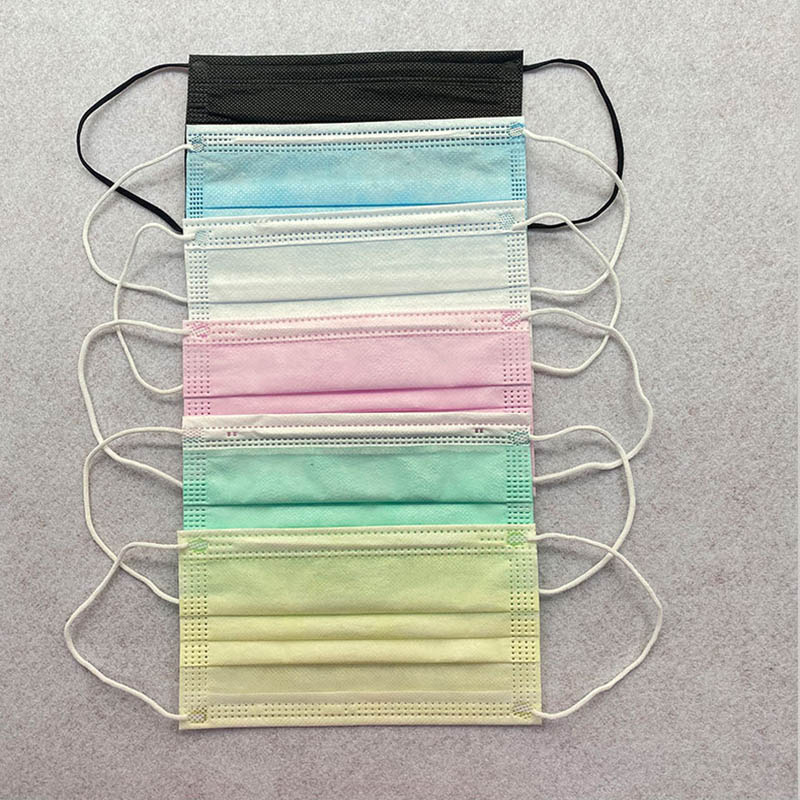 3 Layers Disposable Kids Face Mask With Elastic Earloop Face Mask Kids Anti-Dust Protective Mask In Stock DHL Fast Shipping
