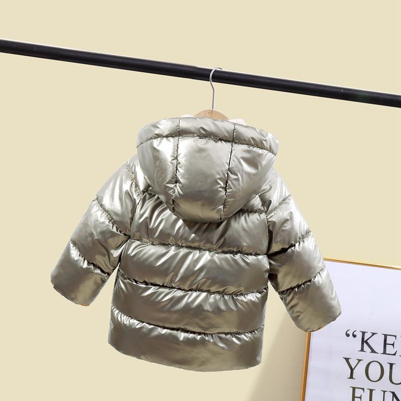 CROAL CHERIE Children`s Parkas Kids Winter Jacket For Girl Boys Winter Coat Warm Thick Velvet Hooded Baby Coats Outerwear (9)