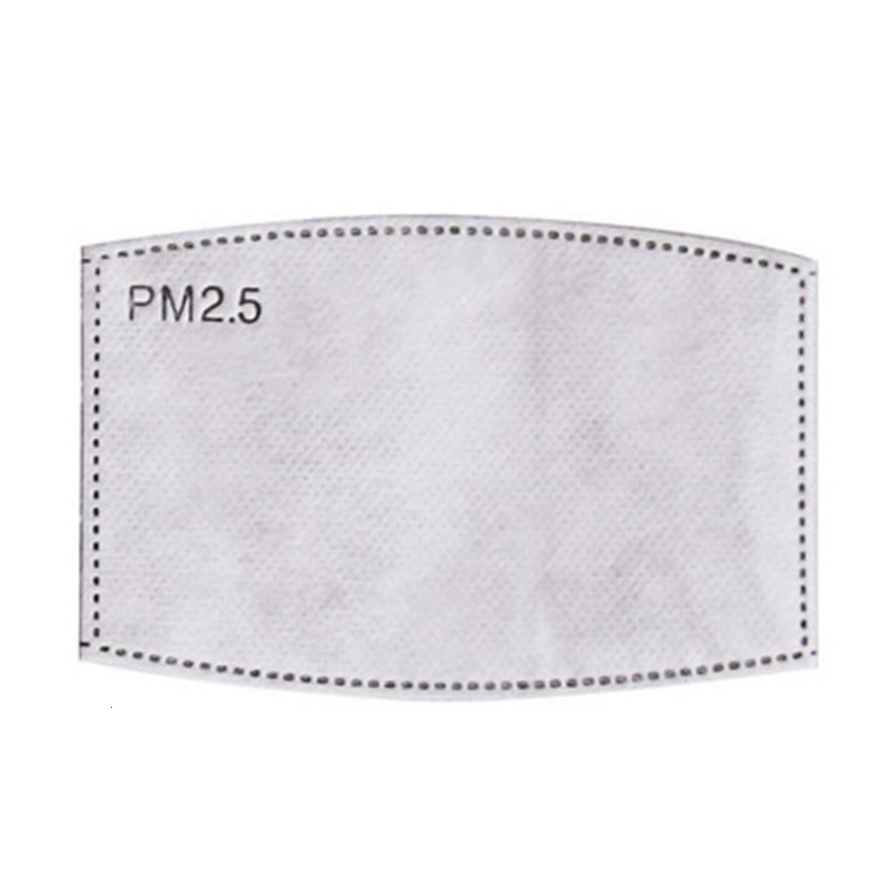 5 Layer Protective PM2.5 PM 2.5 Filter Paper Disposable Mask Face Masks Inner Gasket Replacement Filter Pads Respirator Mask Many In eQUui