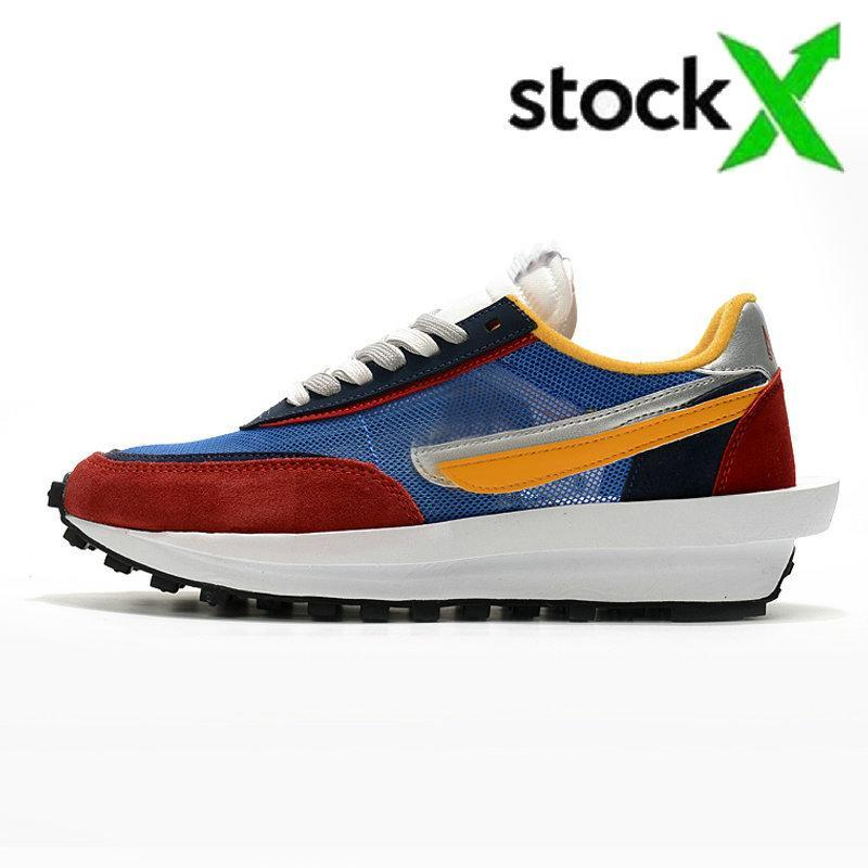 2020 Stock x daybreak sacai ldv ld waffle men women running shoes undercover Black White Varsity Blue mens trainers sports sneakers 36-45
