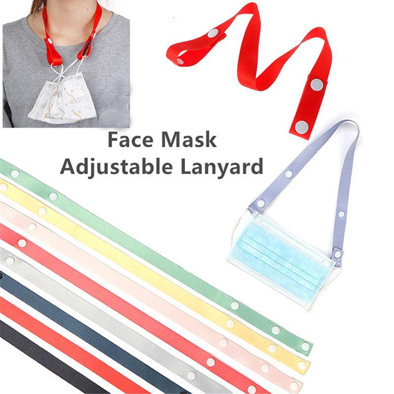 Face Mask Lanyard Mask Holder Adjustable Traceless Ear Hanging Rope