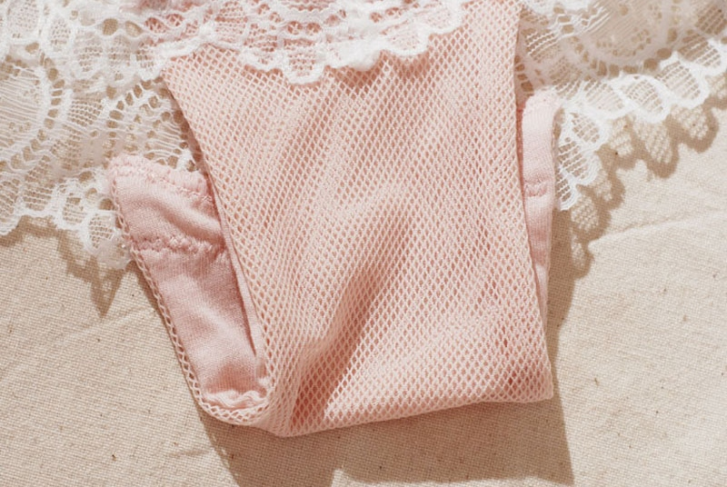 Jerrinut Sexy Lace Underwear Set Underwear Women Push Up Bra Lingerie Set Lace Transparent Underwear Panties And Bra Set 24