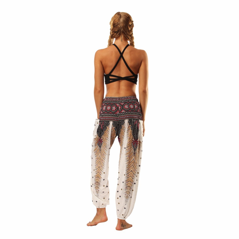 TL001-Wide leg loose yoga pant elastic legging (7)